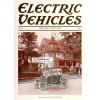 Electric Vehicles, July, 1913. Poster Print.
