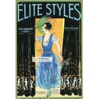 Elite Styles, December, 1921. Poster Print.