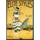 Elite Styles, July, 1920. Poster Print.