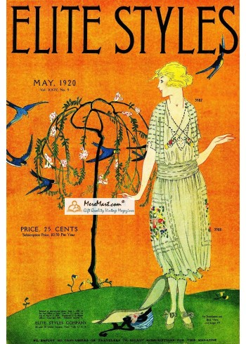 Elite Styles, May, 1920. Poster Print.