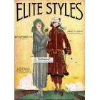 Elite Styles, September, 1921. Poster Print.
