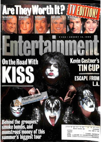 Cover Print of Entertainment Weekly, August 16 1996