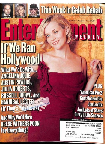 Cover Print of Entertainment Weekly, August 17 2001