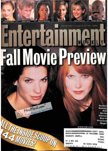 Cover Print of Entertainment Weekly, August 21 1998