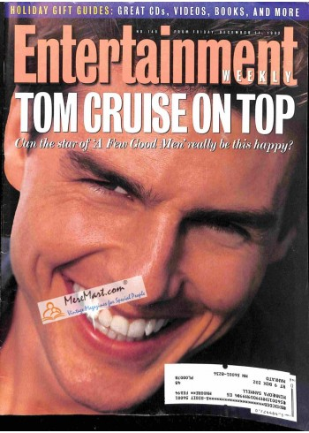 Cover Print of Entertainment Weekly, December 11 1992