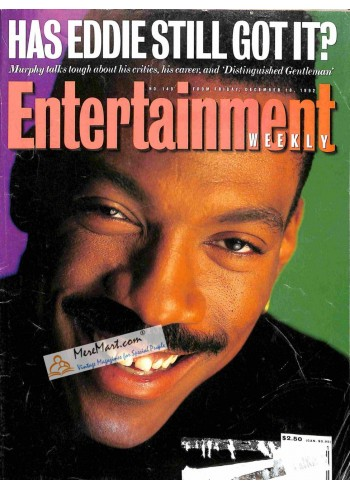 Cover Print of Entertainment Weekly, December 18 1992