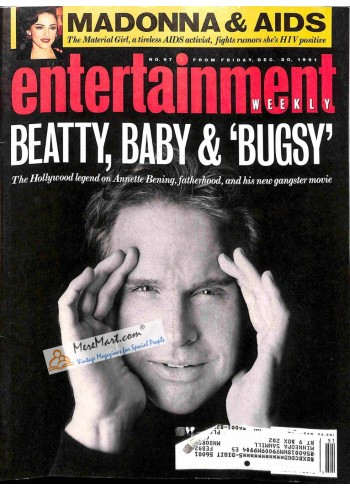 Cover Print of Entertainment Weekly, December 20 1991