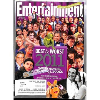 Cover Print of Entertainment Weekly, December 23 2011