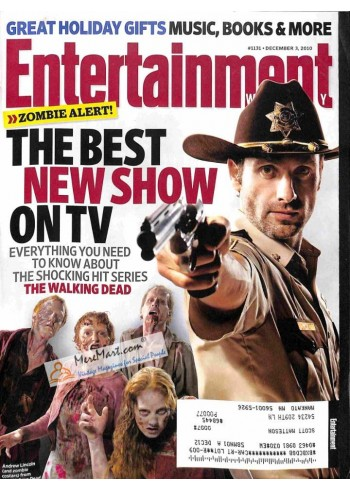 Cover Print of Entertainment Weekly, December 3 2010