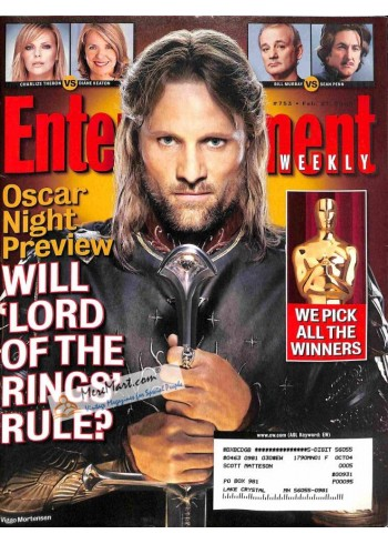 Cover Print of Entertainment Weekly, February 27 2004