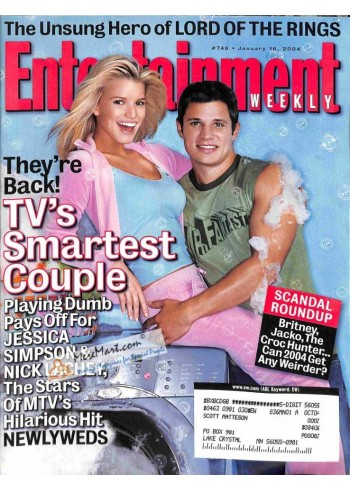 Cover Print of Entertainment Weekly, January 16 2004