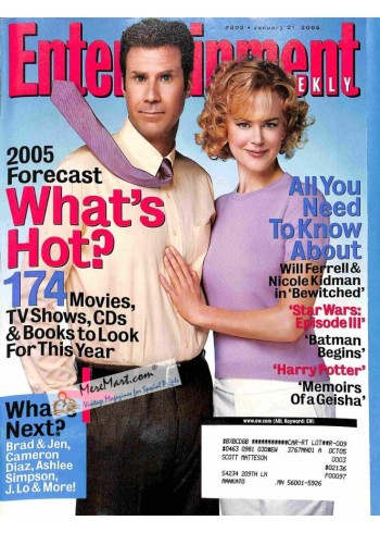 Cover Print of Entertainment Weekly, January 21 2005