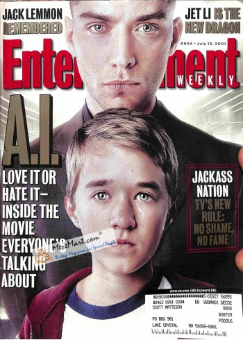 Cover Print of Entertainment Weekly, July 13 2001