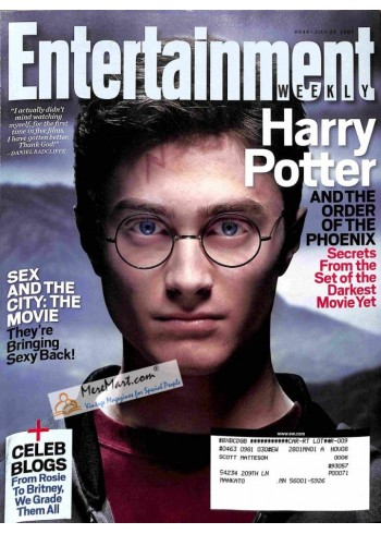 Cover Print of Entertainment Weekly, July 20 2007