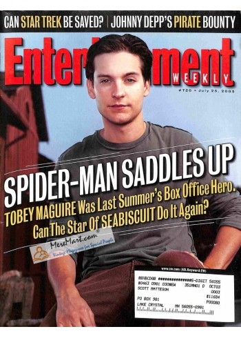 Cover Print of Entertainment Weekly, July 25 2003