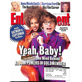 Cover Print of Entertainment Weekly, July 26 2002