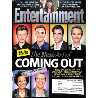 Cover Print of Entertainment Weekly, June 29 2012