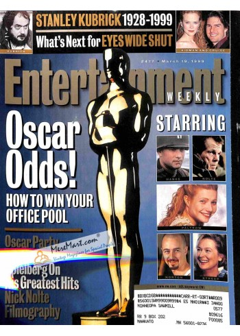 Cover Print of Entertainment Weekly, March 19 1999