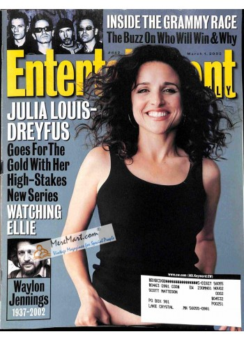 Cover Print of Entertainment Weekly, March 1 2002