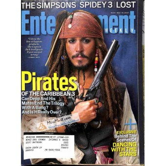 Cover Print of Entertainment Weekly, May 18 2007
