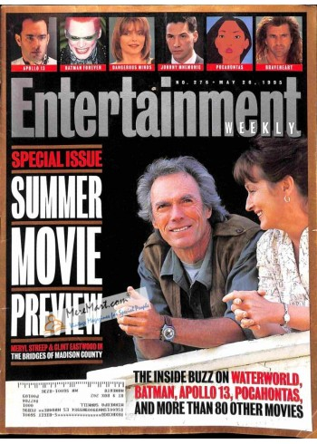 Cover Print of Entertainment Weekly, May 26 1995