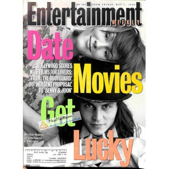 Cover Print of Entertainment Weekly, May 7 1993