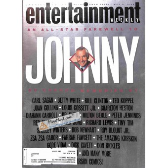 Cover Print of Entertainment Weekly, May 8 1992