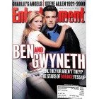 Cover Print of Entertainment Weekly, November 10 2000
