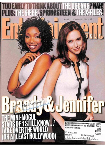 Cover Print of Entertainment Weekly, November 13 1998