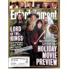 Cover Print of Entertainment Weekly, November 16 2001