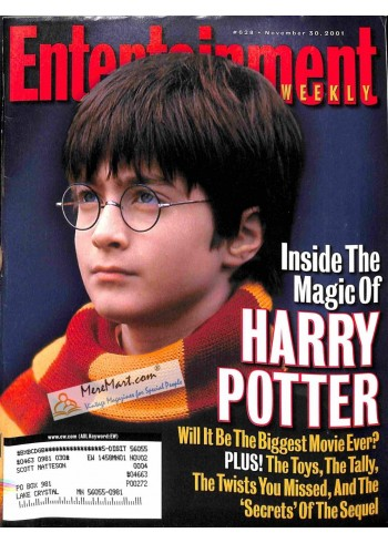 Cover Print of Entertainment Weekly, November 30 2001