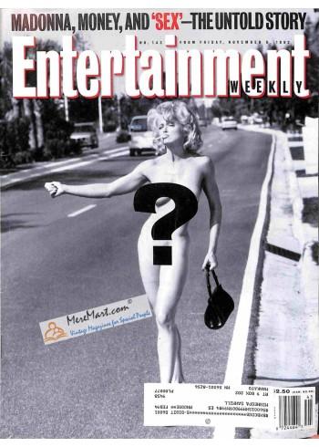 Entertainment Weekly, November 6 1992