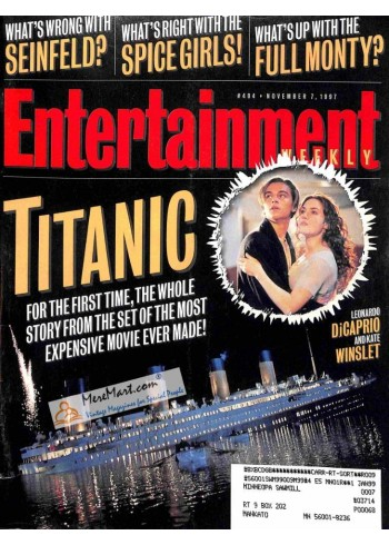 Cover Print of Entertainment Weekly, November 7 1997
