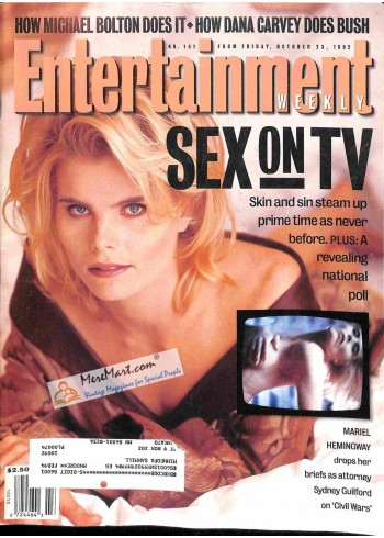 Cover Print of Entertainment Weekly, October 23 1992