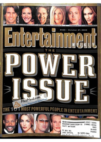 Cover Print of Entertainment Weekly, October 27 2000