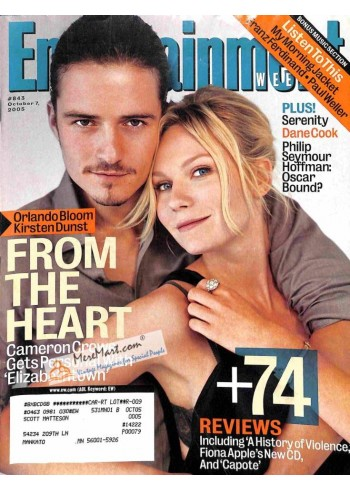 Cover Print of Entertainment Weekly, October 7 2005