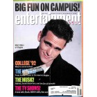 Cover Print of Entertainment Weekly, October 9 1992