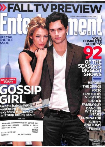 Cover Print of Entertainment Weekly, September 12 2008