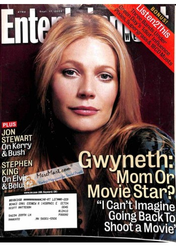 Cover Print of Entertainment Weekly, September 17 2004