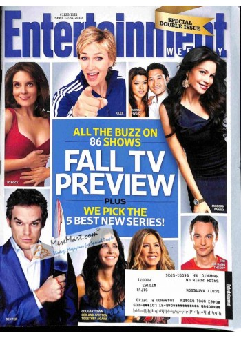 Cover Print of Entertainment Weekly, September 17 2010