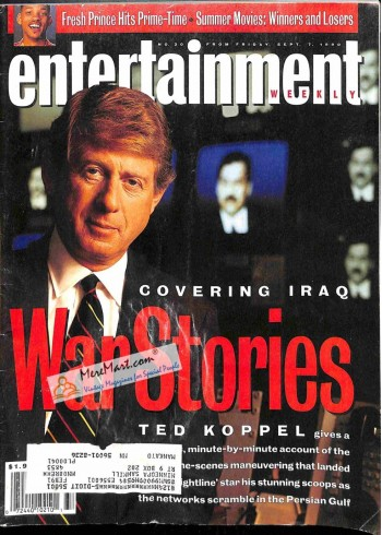 Cover Print of Entertainment Weekly, September 7 1990