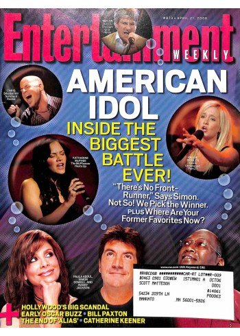 Entertainment Weekly, April 21 2006