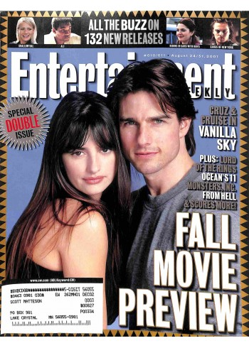 Entertainment Weekly, August 24 2001