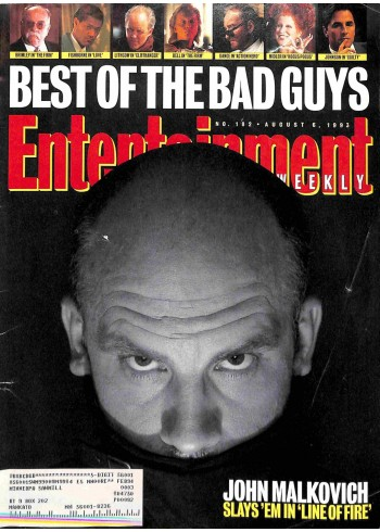 Entertainment Weekly, August 6 1993