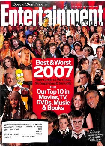 Entertainment Weekly, December 28 2008