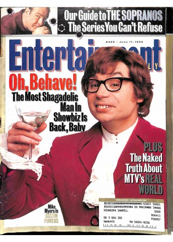 Entertainment Weekly, June 11 1999