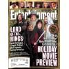 Entertainment Weekly, November 16 2001