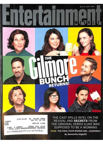 Cover Print of Entertainment Weekly, November 25 2016
