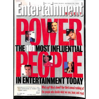 Entertainment Weekly, October 30 1992