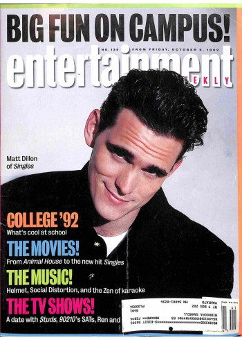 Entertainment Weekly, October 9 1992
